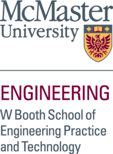 McMaster Engineering W Booth School